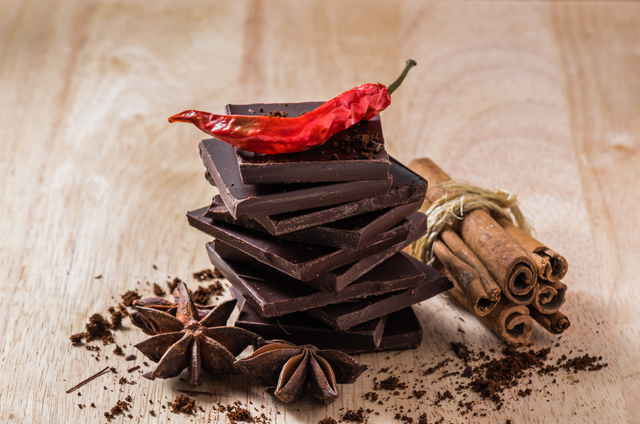Chocolate with Different Spices
