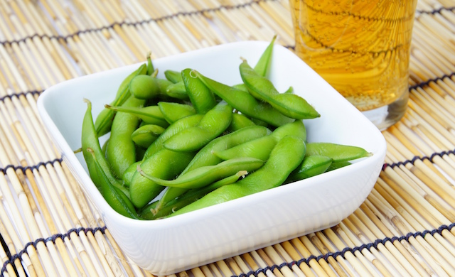 枝豆を使った料理の写真