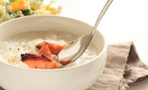 朝食や夜食、風邪にもうれしい、お腹にやさしいおかゆで体調を整えよう!