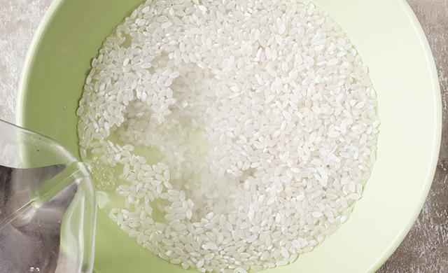 洗米のイメージ