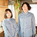 料理ユニット「てとてと」の井上豪希さん、桃子さん