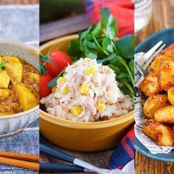 人気ブロガーYuuさんが紹介する冷凍里芋を使った簡単レシピ3品のイメージ
