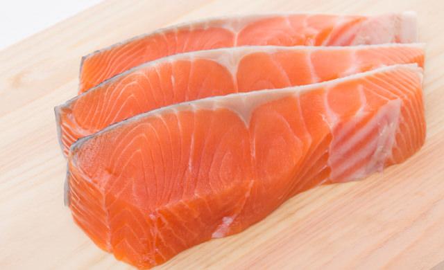鮭の切り身の写真