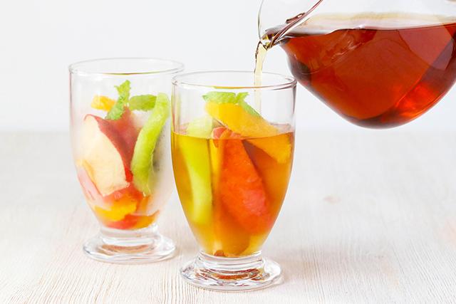 冷凍フルーツアイスティーの写真2