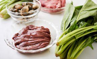鉄分が豊富な食材5種の写真
