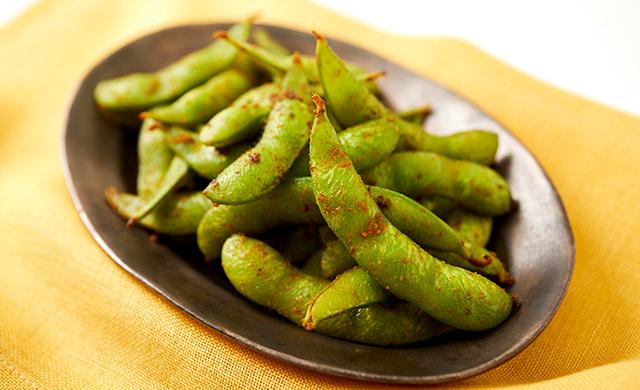 カレー枝豆の写真