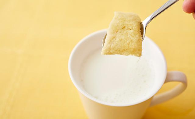 生姜入りホットミルクの写真