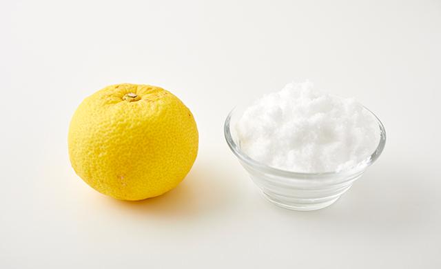 ゆずと砂糖の写真