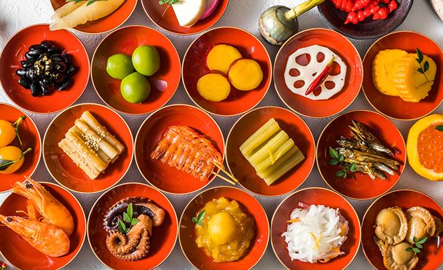 正月食材の写真