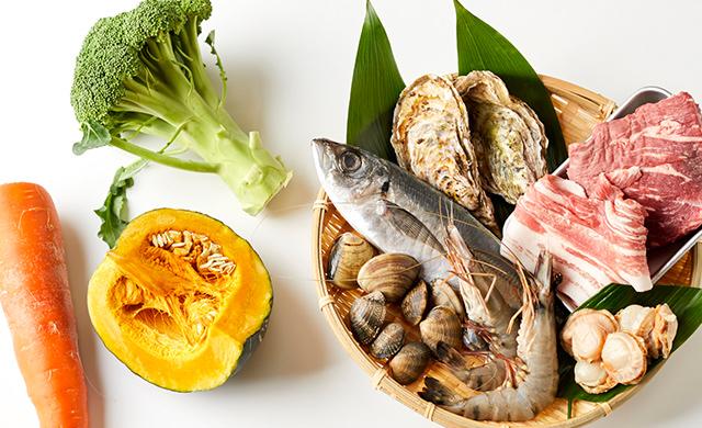 デトックススープに使いたい食材のイメージ
