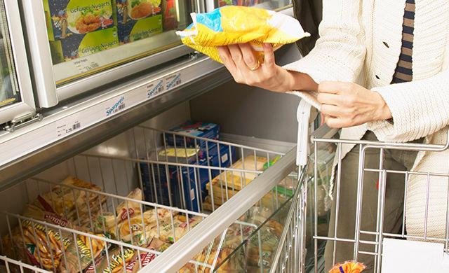 スーパーのオープンケースのイメージ写真