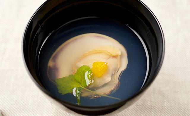ホンビノス貝の潮汁