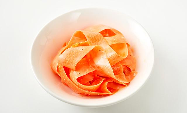 にんじんピーラーサラダの写真