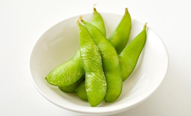 冷凍枝豆の写真
