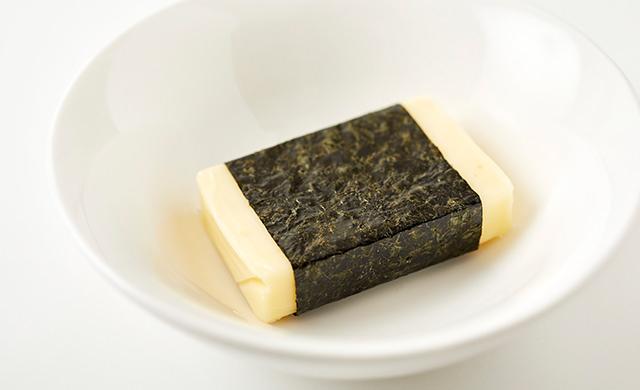のり巻きチーズの写真
