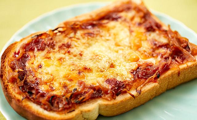 ピザトーストの写真
