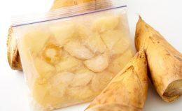 たけのこは冷凍保存できる! 失敗しない冷凍方法&アク抜き方法