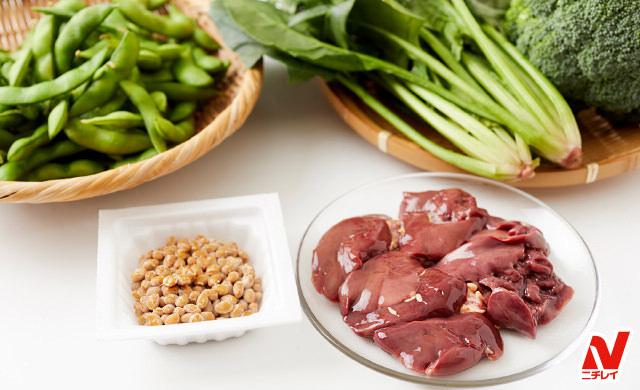 葉酸を豊富に含む食材写真
