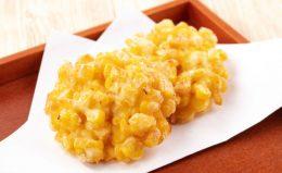 【とうもろこしの天ぷら】「オーブンシート」で簡単にできる!