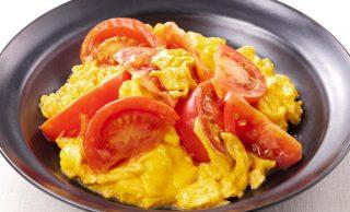 料理写真:トマトと卵の中華炒め