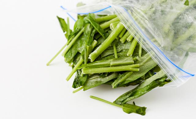 冷凍空芯菜
