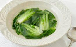 【チンゲン菜の中華スープ】とろ〜り美味しいプロのレシピ&アレンジ4選