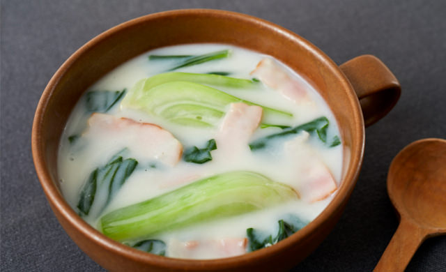 ミルクスープの写真