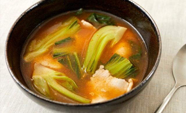 キムチスープの写真