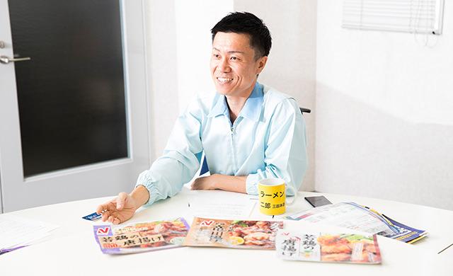 インタビュー風景の写真