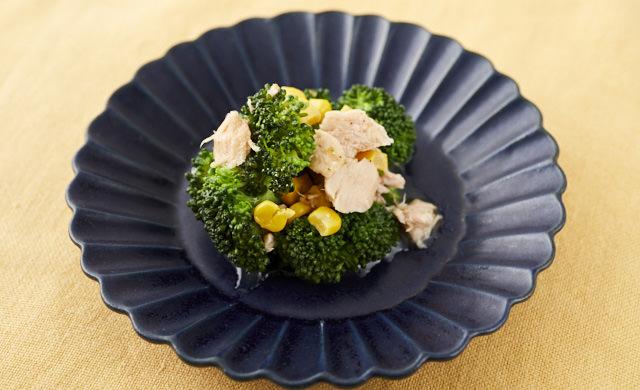 ブロッコリーとツナのサラダの写真