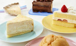 冷凍ケーキとケーキの集合写真