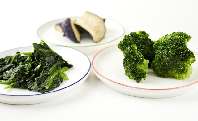 冷凍野菜の中身のイメージ写真