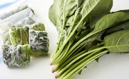 【ほうれん草の冷凍保存】1ヵ月もつ!鮮度・風味を保つテクニック