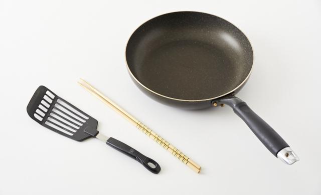 卵焼きの道具の写真