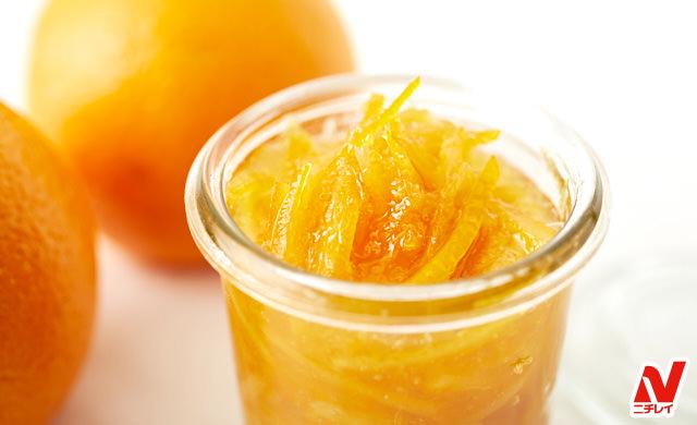 マーマレードとオレンジの写真