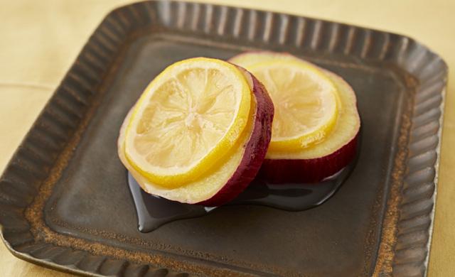 さつまいものレモン煮の写真