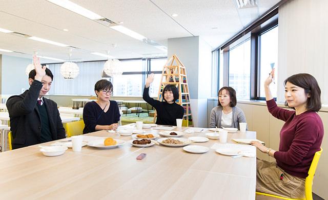 座談会風景の写真