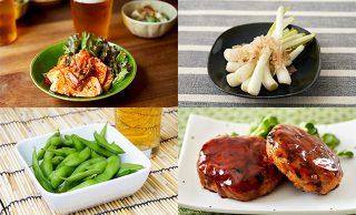 料理の集合写真