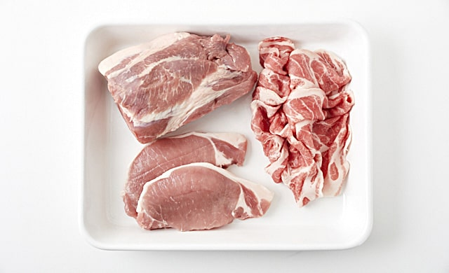 豚肉の写真