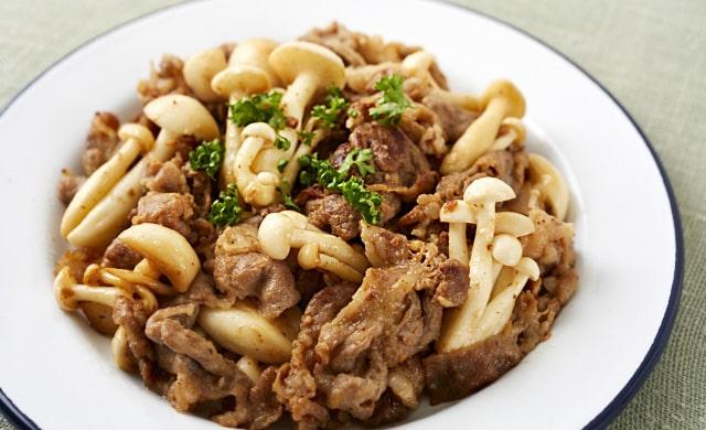 豚こま切れ肉の味噌マヨ漬け写真