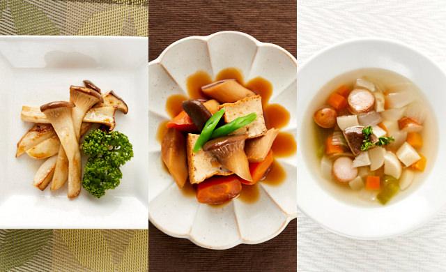 エリンギのソテーの写真/エリンギの煮物の写真/エリンギのスープの写真