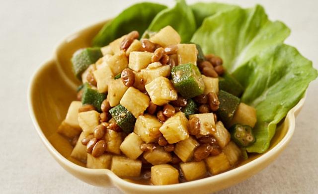長芋のねばねば和風サラダの写真