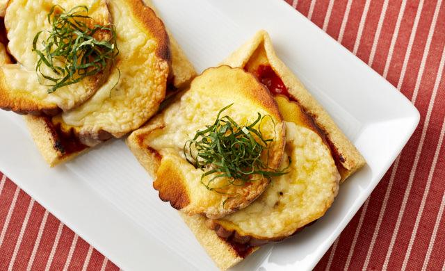伊達巻のチーズ焼きの写真