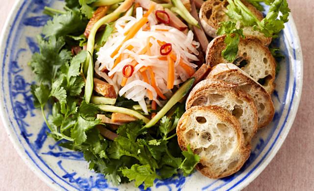 バインミー風サラダの写真