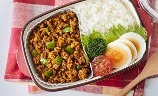 キーマカレー弁当の写真