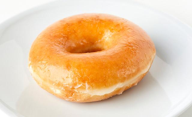 グレーズドドーナツの写真