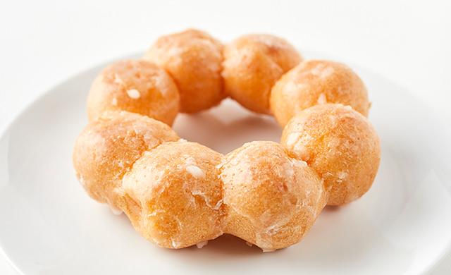 もちもち系ドーナツの写真