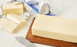 バターと冷凍バターの写真