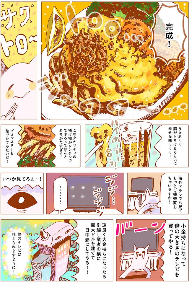 冷食飲み#2「揚げ物でストレス解消」