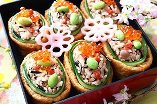 梅ひじきいなり寿司